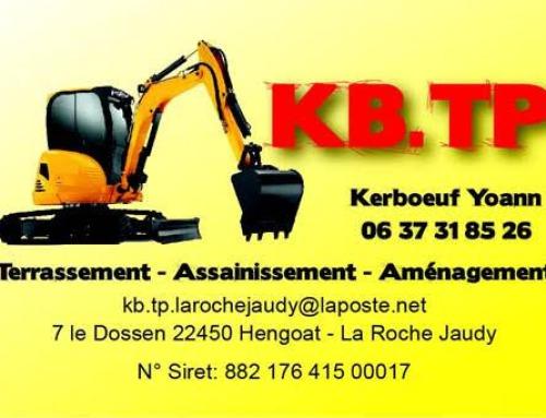 KB. TP – Terrassement-Assainissement-Aménagement – Yoann Kerboeuf