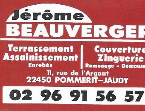 SARL Jérôme Beauverger – Terrassement/Assainissement – Couverture/Zinguerie