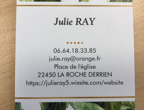 Réflexologue – Julie Ray