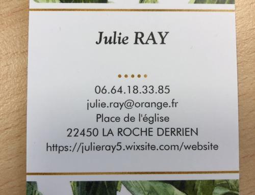 Réflexologue – Julie Ray