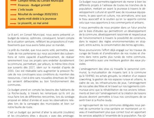 La Roche-Jaudy vous informe N°5 – 06/2021